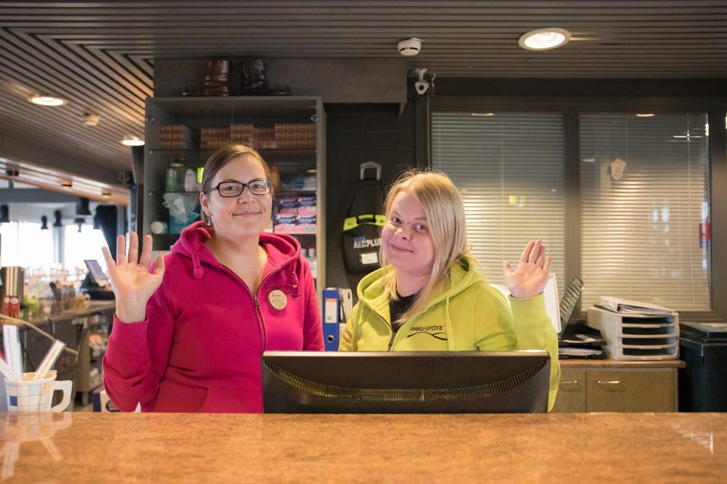 Hotelli Pikku-Syöte, hissiliput nyt myös hotellin respasta.